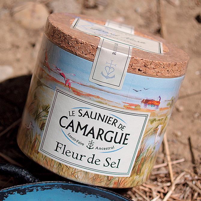 Boite de fleur de sel de Camargue